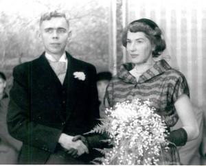 huwelijk Jan van Baarda en Trees Krom