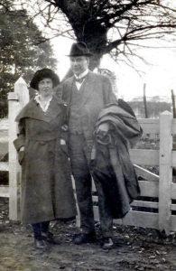 Josina van Baarda met echtgenoot Robbert Baart de la Faille