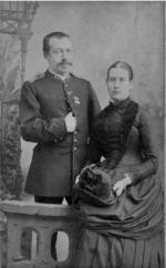 Piet van Baarda met echtgenote Betsie Meijjes