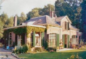"""""""Casa Picola"""" Het huis, Kerklaan 10 te Rozendaal, waar Toos en Bob 35 jaar woonden"""